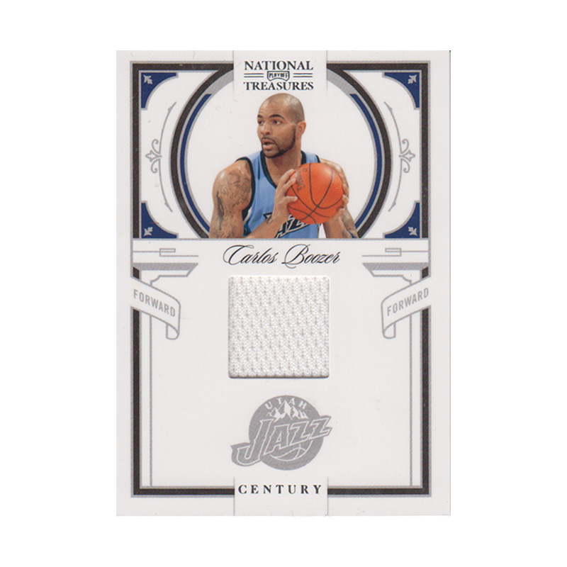カルロス・ブーザー NBAカード 2019-10 National Treasures Century Jersey (25/99) / Carlos Boozer