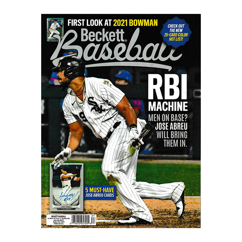 【MLBベケット】 MLB Beckett Plus #177 2020年 12月号 10/20入荷