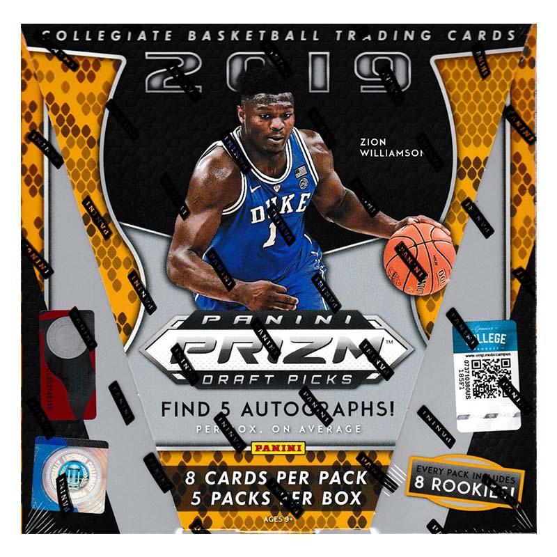 2019 Panini Prizm Draft Picks Collegiate Basketball Hobby