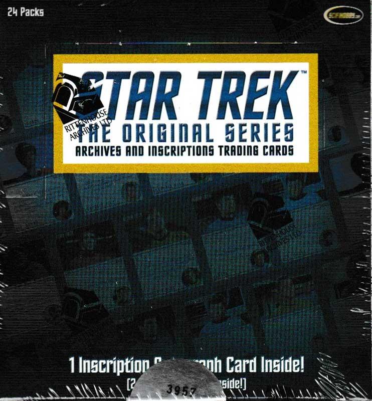 スタートレック 2020 Rittenhouse Star Trek The Original Series : Archives and Inscriptions Trading Cards 5/7入荷