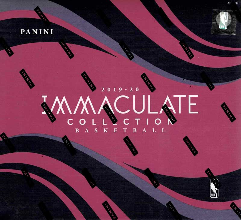 NBA 2019-20 Panini Immaculate Basketball 11/18入荷