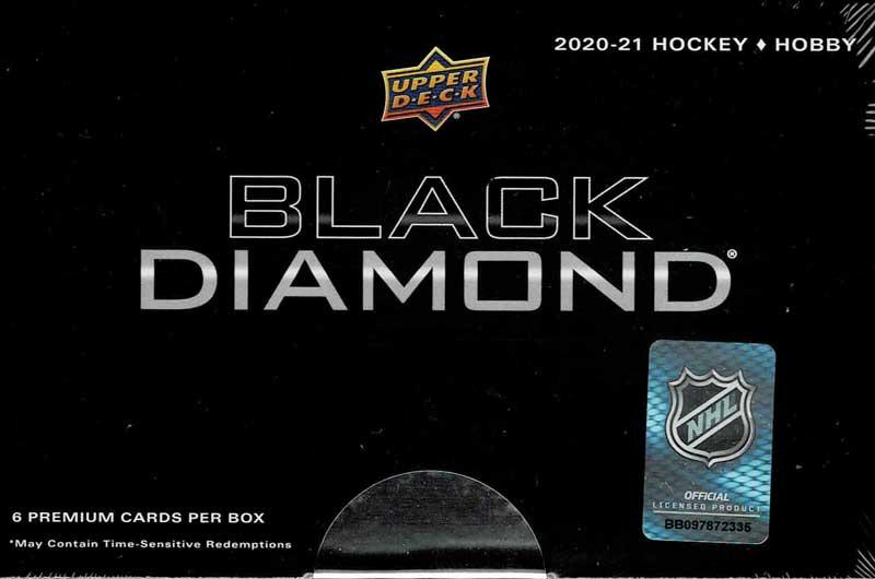 NHL 2020-21 UD Black Diamond Hockey 店頭販売中 価格はASK、4/7入荷!
