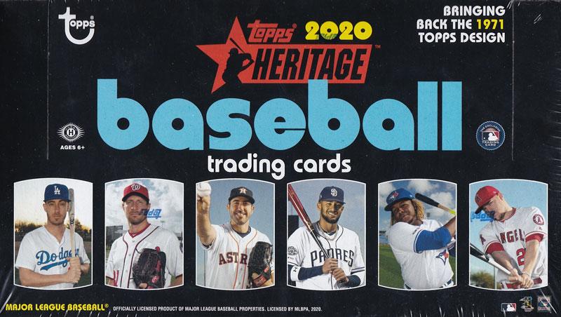 MLB 2020 Topps Heritage Baseball 2/26入荷!