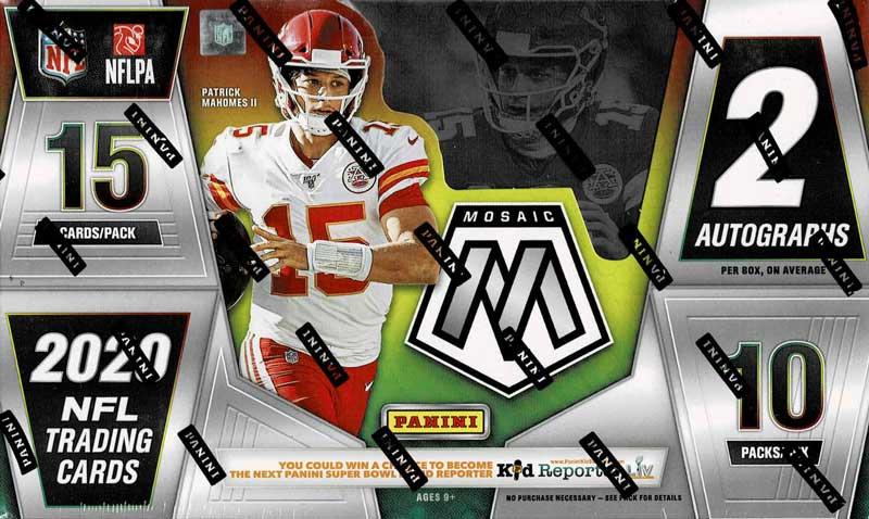 NFL 2020 Panini Mosaic Football 9/11入荷!