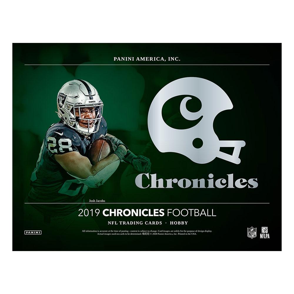 NFL 2019 Panini Chronicles Football 5/15入荷