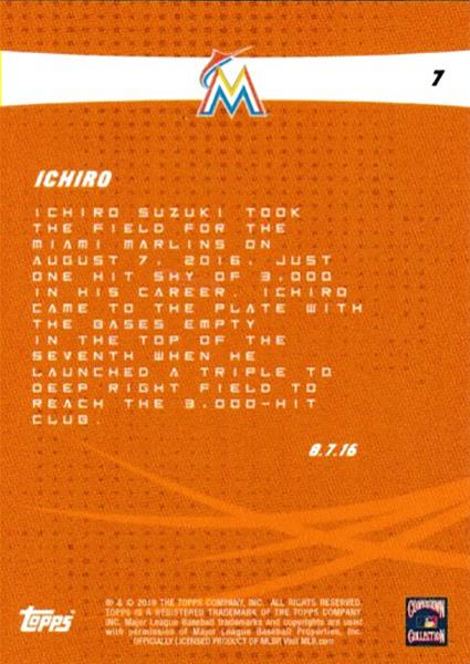 イチロー Ichiro 2019 Topps On Demand Set #4 2019 Topps Legacy Series (20枚入り)  5/9入荷