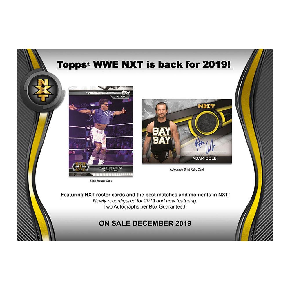 プロレスカード 2019 Topps WWE NXT ボックス (Box) 12/9入荷!