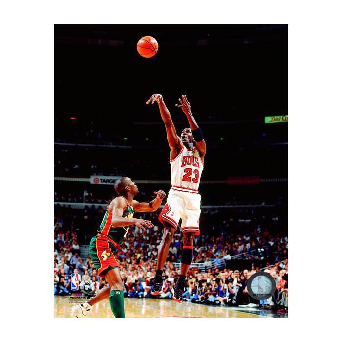 マイケル・ジョーダン 1996 NBA ファイナル ゲーム 6 8x10 フォト シカゴ・ブルズ フォトファイル