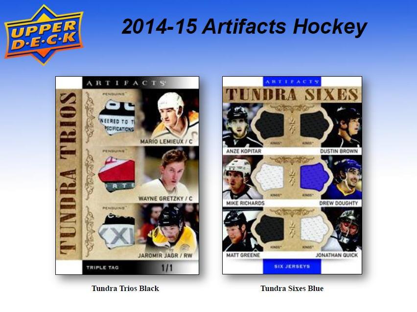 NHL 2014-15 UD Artifacts Hockey