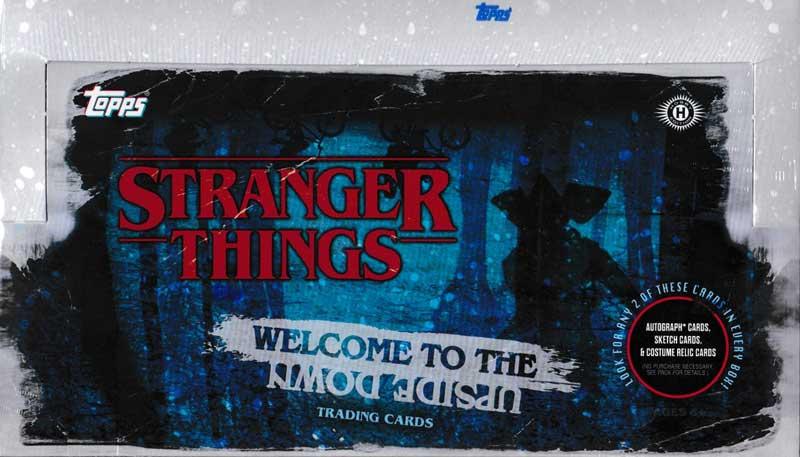 ストレンジャー・シングス 2019 Topps Stranger Things Welcome to The Upside Down トレーディングカード 11/27入荷!