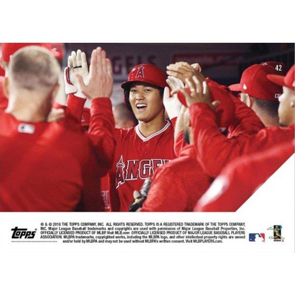 大谷翔平 1st Angels rookie to homer in each of 1st 3 home games - Shohei Ohtani MLB TOPPS NOW Card #42 3試合連続ホームラン カード