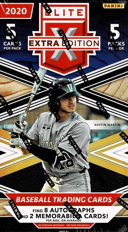 MLB 2020 Panini Elite Extra Edition Baseball 1/6入荷!