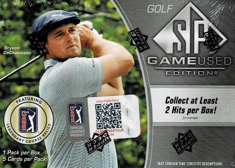 2021 SP Game Used Golf Cards 価格はASK、6/10より店頭販売開始