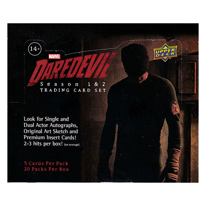 マーベル デアデビル 2018 Upper Deck Daredevil Season 1 & 2 Trading Cards、3/26入荷