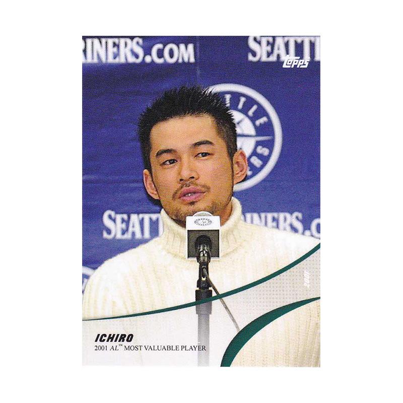 イチロー Ichiro 2019 Topps On Demand Set #4-2 2001 MVP