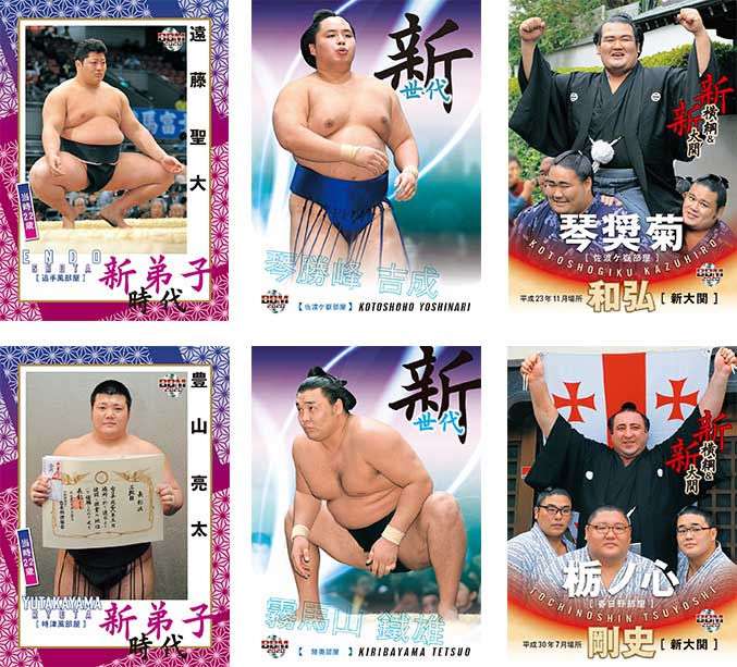 BBM2020大相撲カード 「新」 送料無料、9/15入荷!