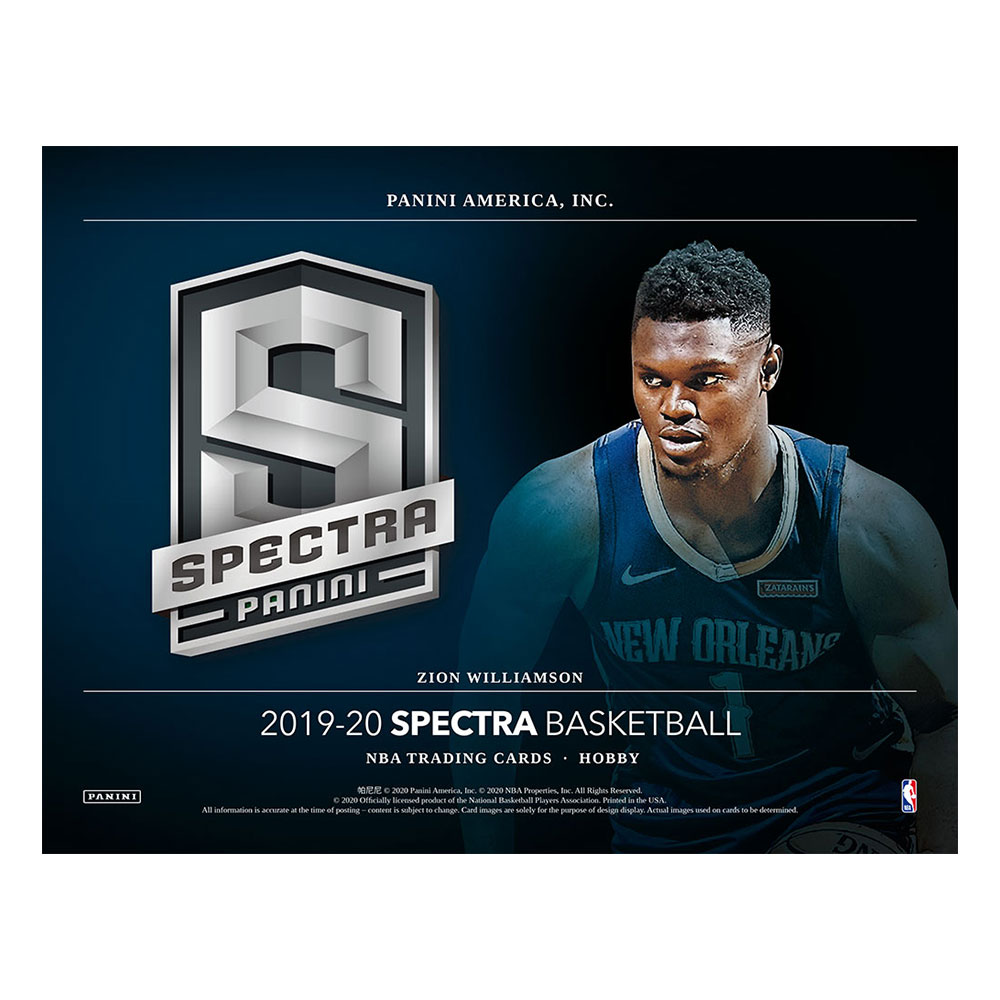 NBA 2019-20 Panini Spectra Basketball