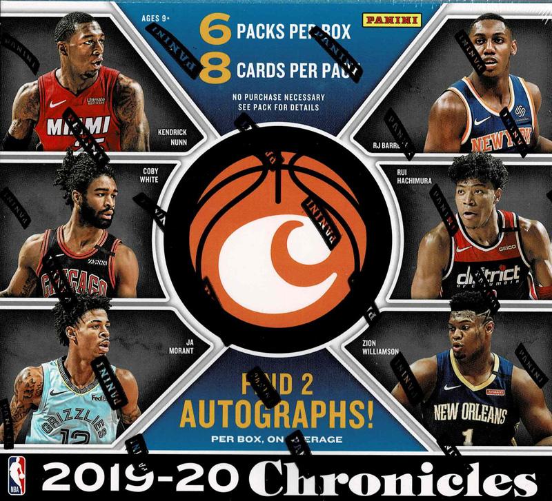 NBA 2019-20 Panini Chronicles Basketball Hobby 7/31入荷