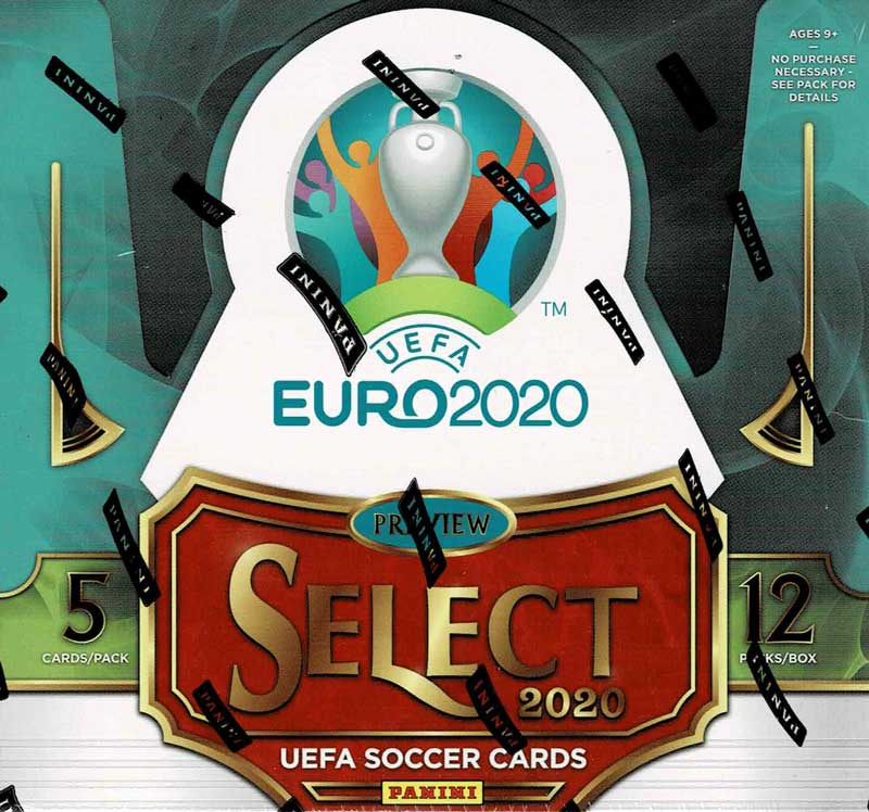 2019-20 Panini Select UEFA EURO 2020 Soccer Hobby