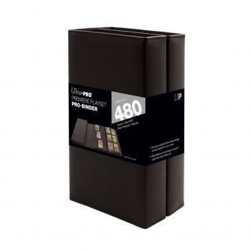 Ultra Pro (ウルトラプロ) ブラック プレミア プレイセット プロバインダー (#15321)| Black Premiere Playset PRO-Binder