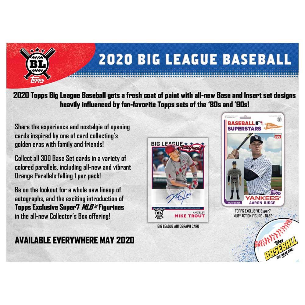 MLB 2020 Topps Big League Baseball Collector Box 6/26入荷