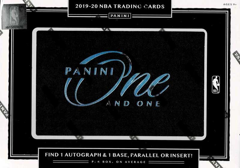 NBA 2019-20 Panini One and One Basketball 11/25入荷!