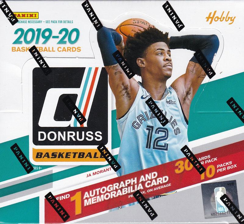 NBA 2019-20 Panini Donruss Hobby Basketball 12/13入荷!