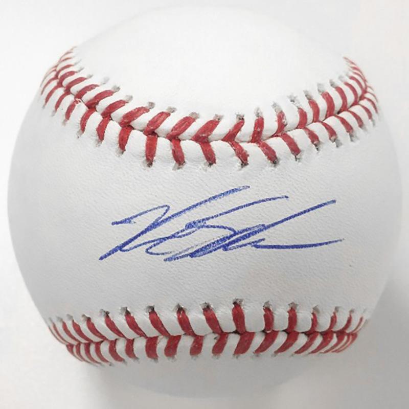 カイル・シュワーバー 直筆サインボール 2016 / Kyle Schwarber Autographed Baseball - 2016 4/9入荷