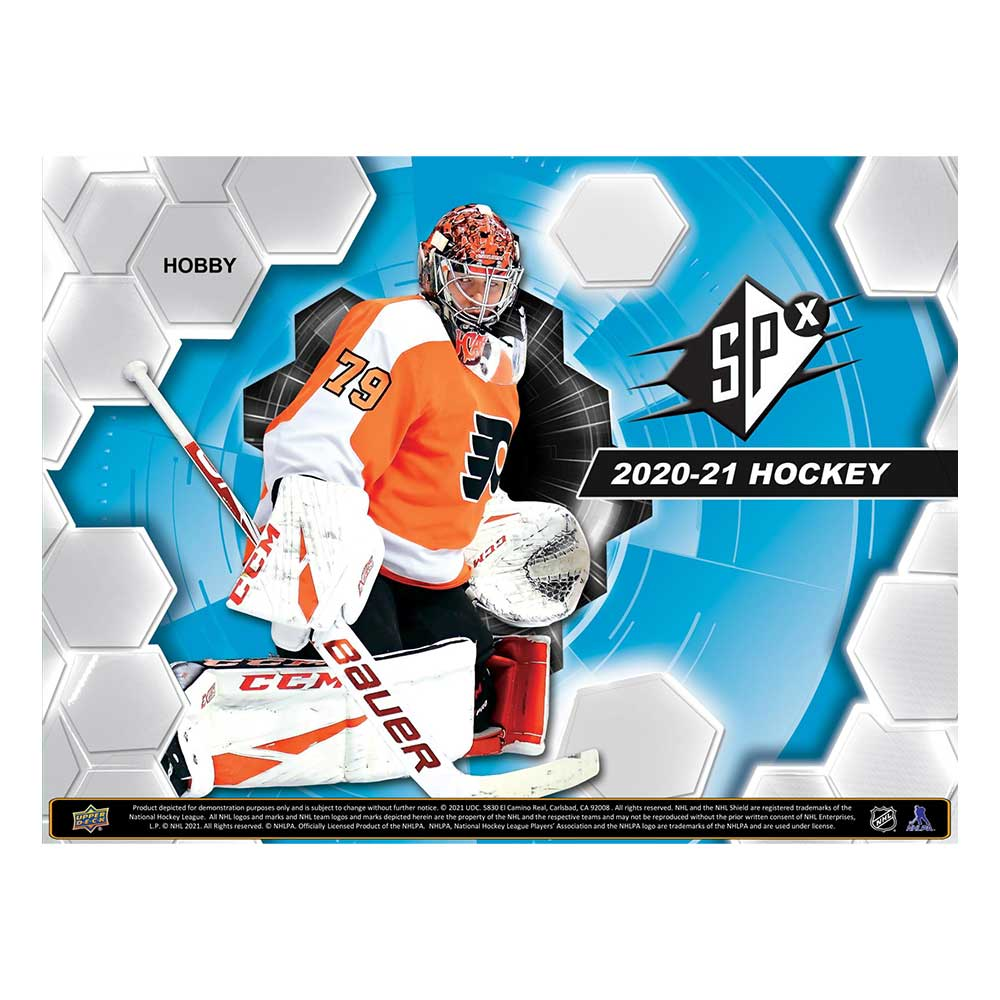 NHL 2020-21 UD SPx Hockey 5/26入荷!