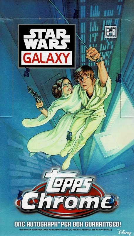 2021 Topps Star Wars Galaxy トレーディングカード 8/25入荷