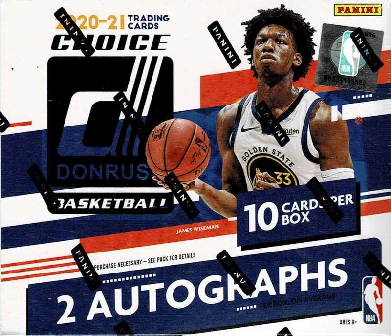 NBA 2020-21 Panini Donruss Choice Basketball 3/15入荷!