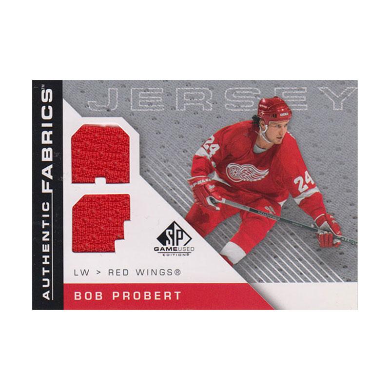 ボブ・プロバート 2007-08 SP Game Used Authentic Fabrics / Bob Probert