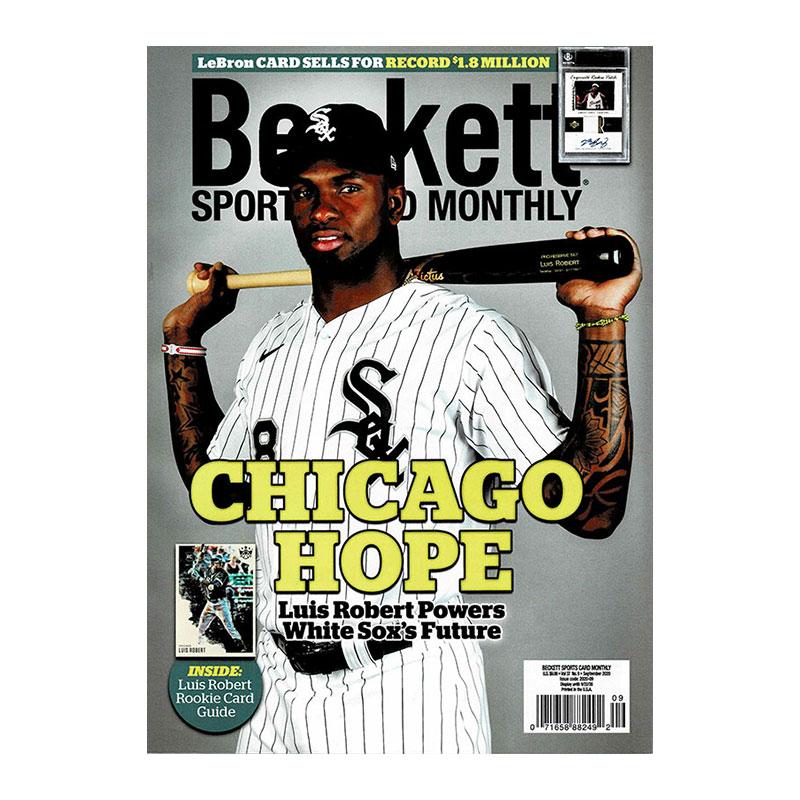 Beckett Sports Card Monthly 2020年 9月号 #426 月刊ベケット トレーディングカード プライスガイド 8/12入荷!!