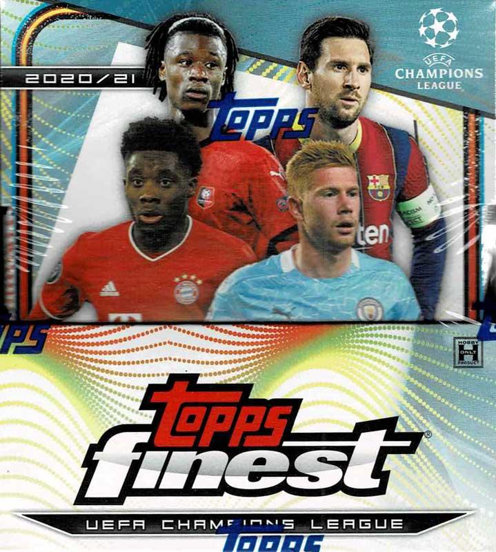 2020/21 TOPPS FINEST UEFA CHAMPIONS LEAGUE  7/2入荷