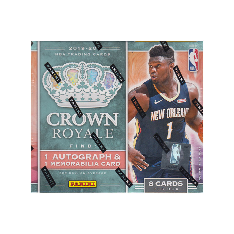 NBA 2019-20 Panini Crown Royale Basketball