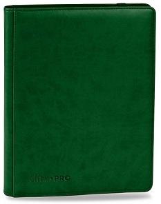 ウルトラプロ (Ultra Pro) プレミアム プロ バインダー グリーン #84196 | Premium 9-Pocket Green PRO-Binder