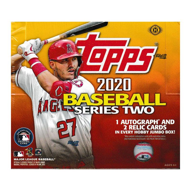 MLB 2020 Topps Baseball Series 2 Jumbo 6/26入荷!