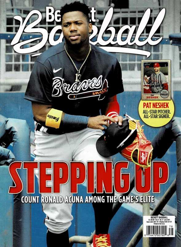 【MLBベケット】 MLB Beckett Plus #183 2021年 6月号 4/22入荷