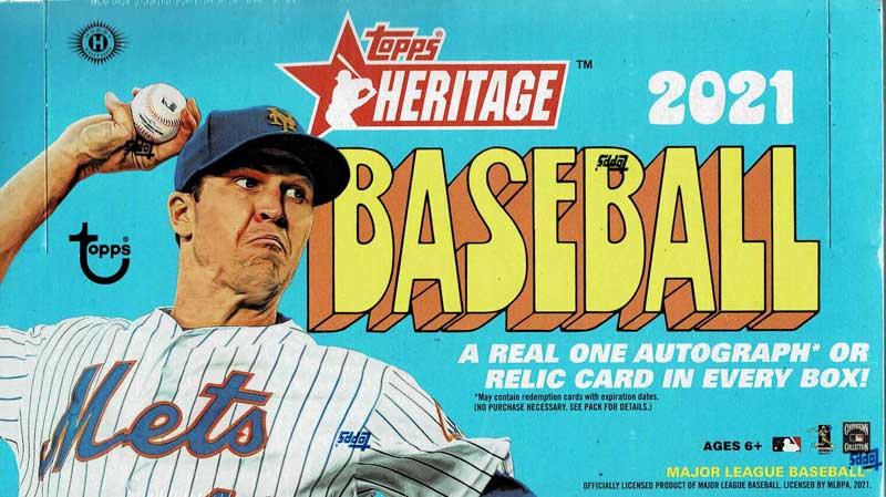 MLB 2021 Topps Heritage Baseball 3/26入荷