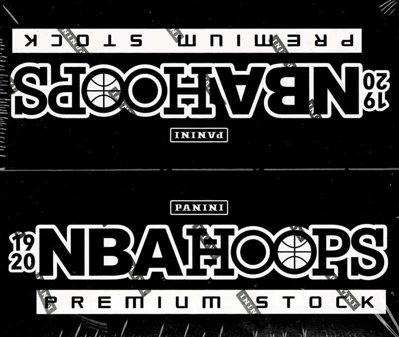 NBA 2019-20 Hoops Premium Stock Basketball Cello Packs 2/10入荷