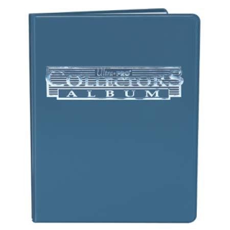 ウルトラプロ(Ultra Pro) 9ポケットポートフォリオ ブルー #81367 | 9-Pocket Blue Collectors Portfolio