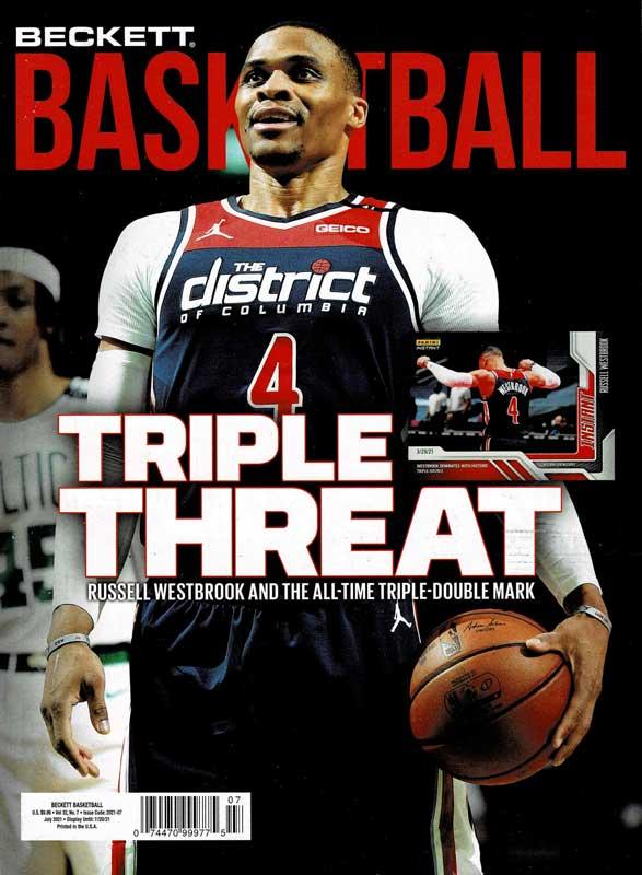 NBA Beckett Plus #346 2021年 7月号 (ベケット) 6/24入荷 !!