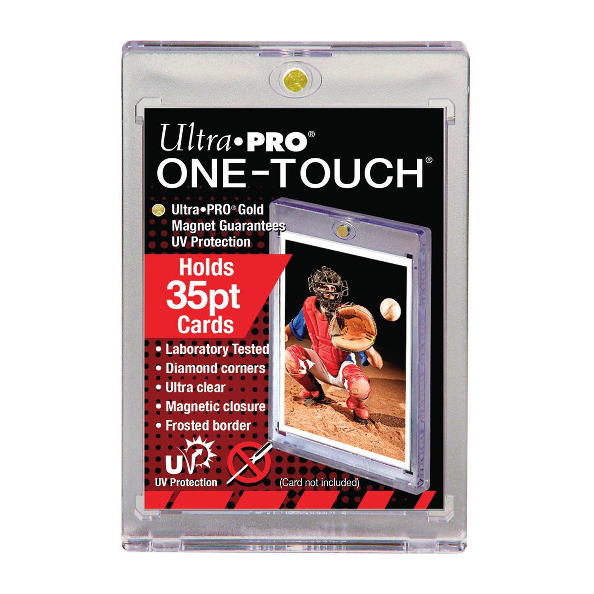 ウルトラプロ (Ultra Pro) 35PT UVワンタッチマグネットホルダー 1mm厚 #81575 | 35PT UV One Touch Magnetic Holder