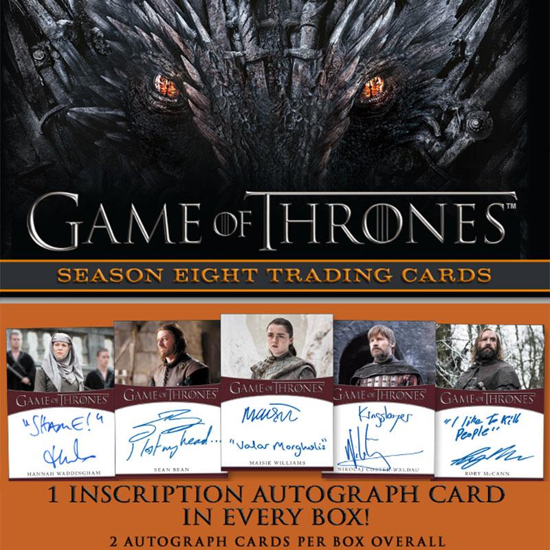 2020 ゲーム・オブ・スローンズ シーズン8 / 2020 Rittenhouse Game of Thrones Season Eight Trading Cards トレーディングカード 3/26入荷!