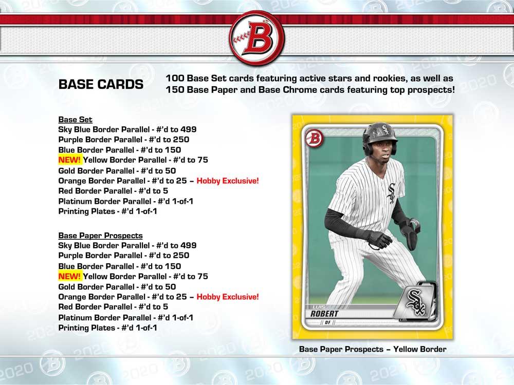 MLB 2020 Bowman Baseball Jumbo 5/23入荷