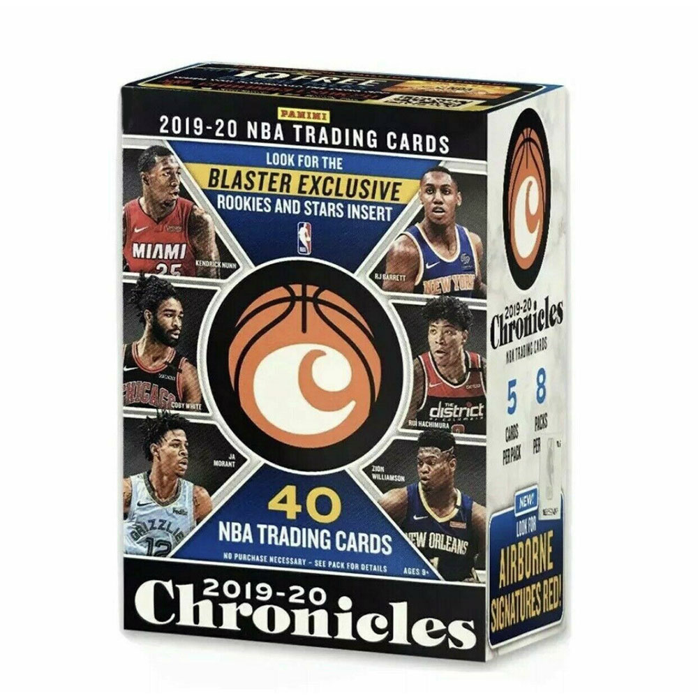 NBA 2019-20 Panini Chronicles Basketball Blaster 9/2入荷!八村塁封入!