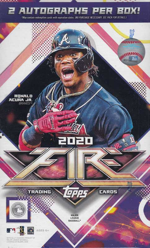 MLB 2020 Topps Fire Baseball
