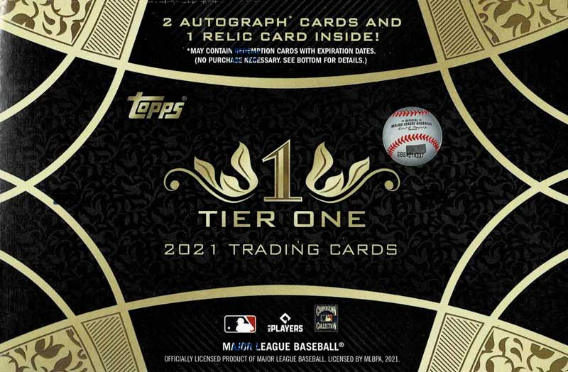 MLB 2021 Topps Tier One Baseball 5/6入荷