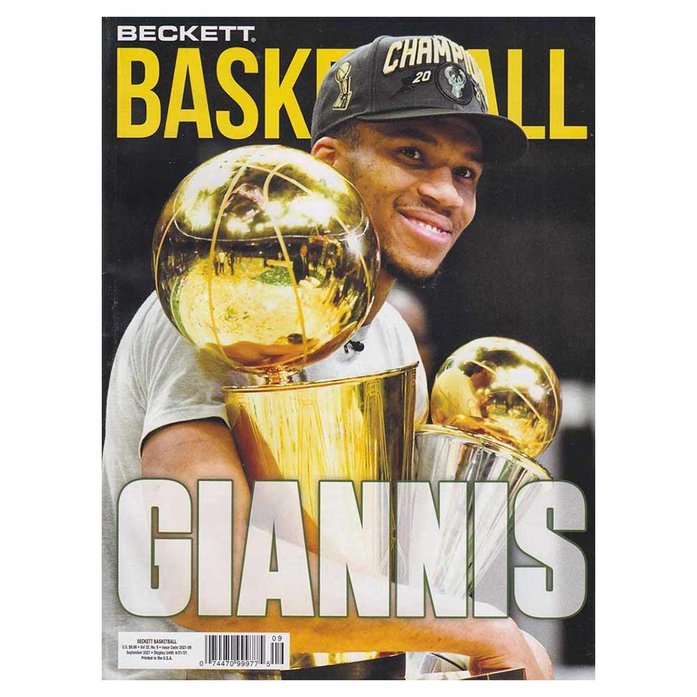 NBA Beckett Plus #348 2021年 9月号 (ベケット) 8/16入荷 !!