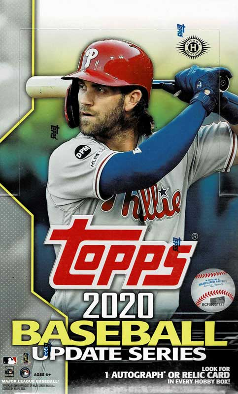 MLB 2020 Topps Update Series Baseball Hobby  11/9入荷!
